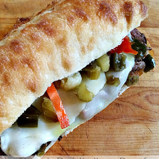 Crock Pot Italian Beef Sandwiches.