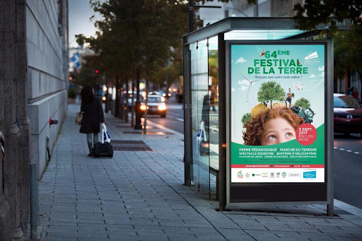 campagne d'affichage abribus