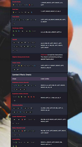 CHEAT CODES FOR GTA V screenshot 7