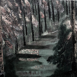 Pathway by Meeta Thakur - Painting All Painting ( canvas, painting, oil, colours )