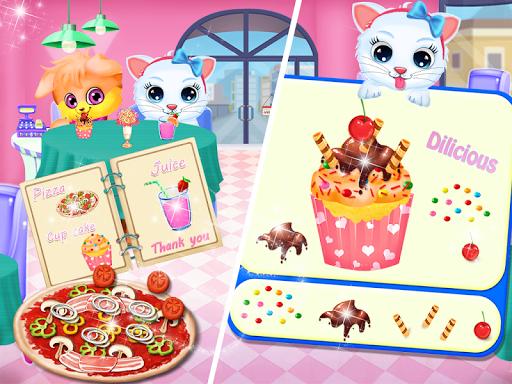 Cute Kitty Daycare Activity - Fluffy Pet Salon apkbreak screenshots 1