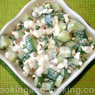 Cucumber Cottage Cheese Salad Recipes.