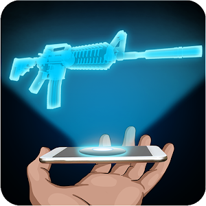 Hologram Rifle 3D Simulator for PC and MAC