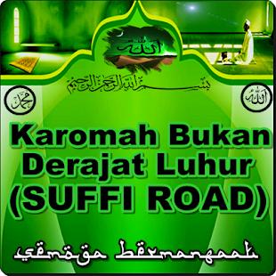 Karomah Bukan Derajat Luhur(SUFFI ROAD) - náhled