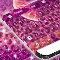 Purple Cheetah Keyboard Free icon