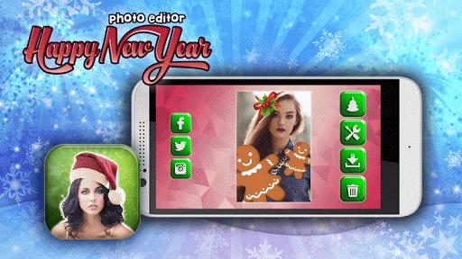 新年快樂照片編輯器