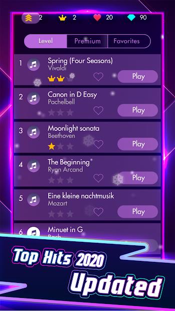 Piano Solo - Magic Dream tiles game 4 Android App Screenshot