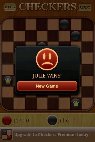 Checkers Free 1.52 screenshots 7