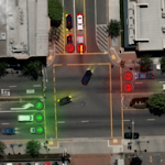 Traffic Lanes 2 Icon