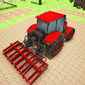 Modern Farming Tractor Driving Games 2021 icon