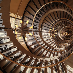 Staircase No. 9 by Bill Frank - Buildings & Architecture Architectural Detail