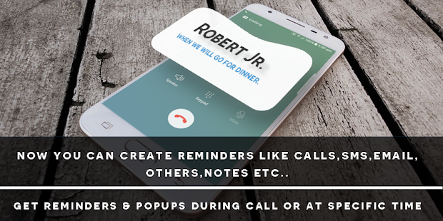 Call Reminder & Notes - náhled