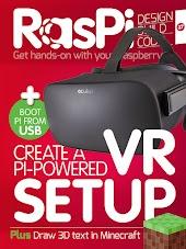 RasPi magazine – Design Build & Code with Raspberry Pi