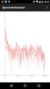 Spectrum Analyzer screenshot 1