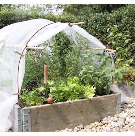 Odlingsbågar/stöd 3 set för odlingstunnel