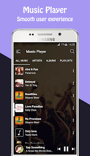 music player- screenshot thumbnail
