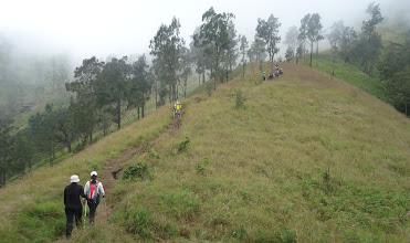 Photo: Climbing mount Rinjani Summit 3726 meters, Ms Inna Saidi 2 participant from Singapore, hiking mount Rinjani 4 Days 3 Nights䀿̳