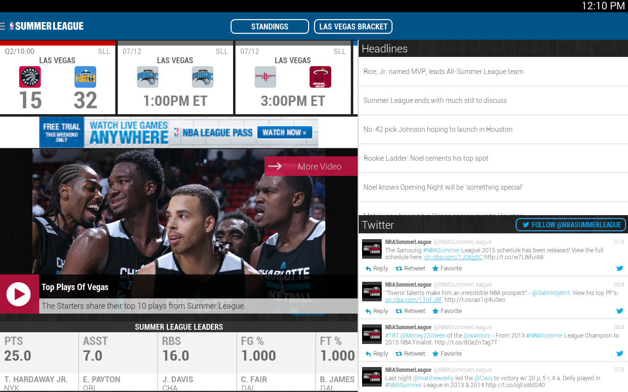 NBA 2014-15- screenshot