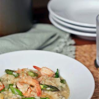 Shrimp and Asparagus Risotto Recipe