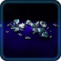 Diamonds live wallpaper icon