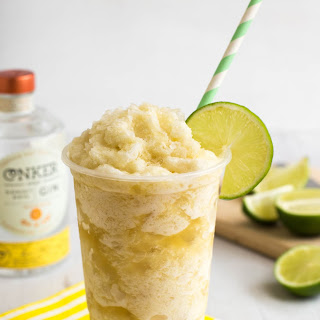 How to Make (Boozy!) Pineapple and Lime Slush Puppies.