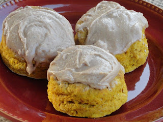 Pumpkin Whole Wheat Fluffy Biscuit Recipe