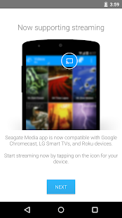 Seagate Media™ app- screenshot thumbnail