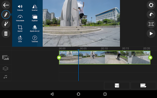 Apl editor vídeo PowerDirector screenshot 10