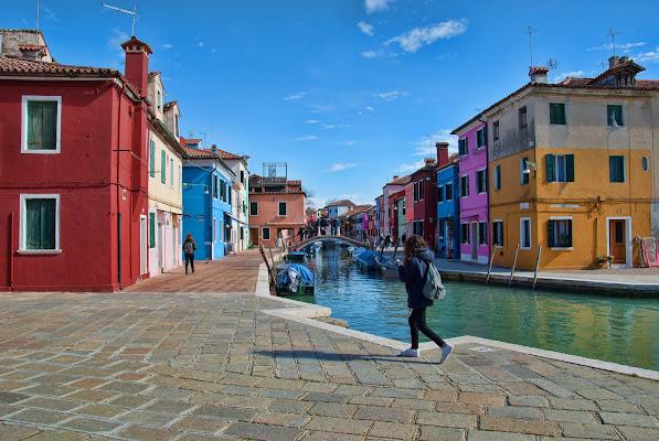 il borgo a colori(Burano) di Zerosedici