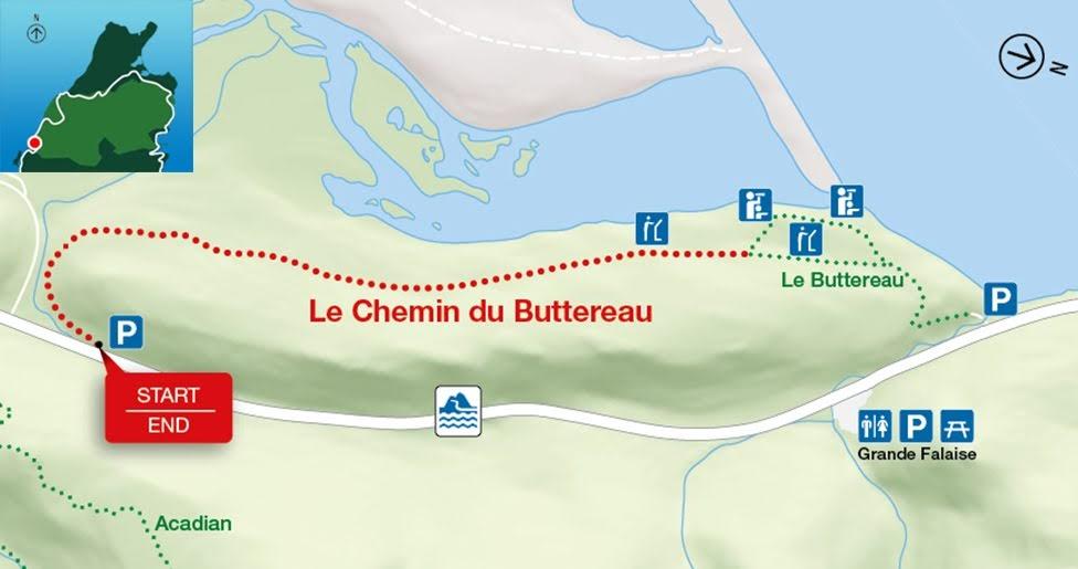 Le Chemin du Buttereau i Le Buttereau, Park Narodowy Cape Breton Highlands