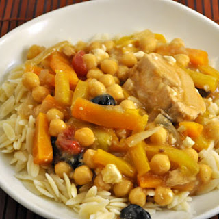 Chicken with Chickpeas and Preserved Lemon