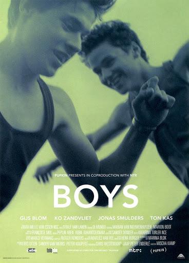 Przód ulotki filmu 'Boys'