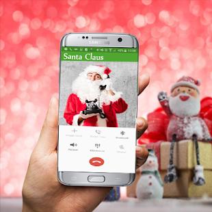 Fake Video Call Santa Claus screenshot