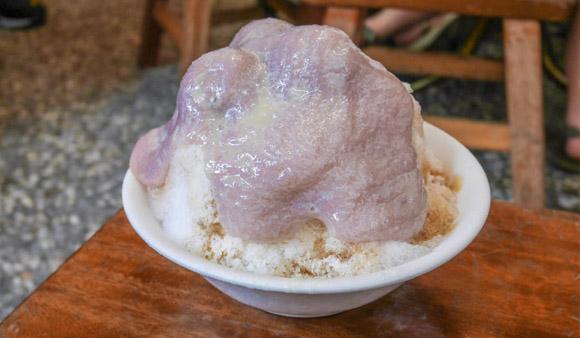 芋頭瀑布牛奶冰只要60元!還有猛男老闆「張家豪台式功夫甜品」@高雄捷運後驛站