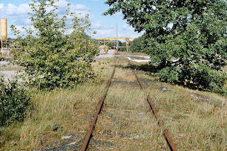 Photo: Fragment łącznicy Grębocin Podg. - Katarzynka (linia nr 736) używany sporadycznie przez firmę Betor {Toruń; 2003-09-24}
