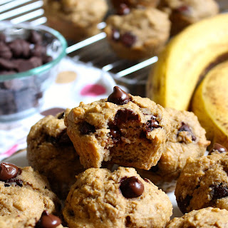 Chocolate Chip Banana Muffins.