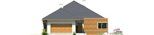 Margaret G2 Leca® Dom - Elewacja przednia