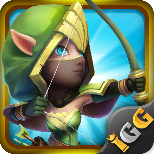 Castle Clash: RPG War and Strategy FR - Google Playstore Revenue