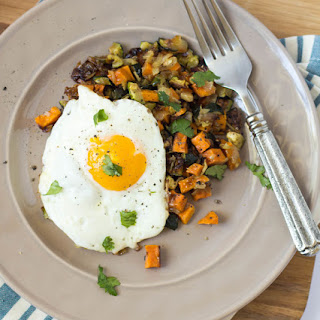 Roasted Vegetable Hash with Eggs