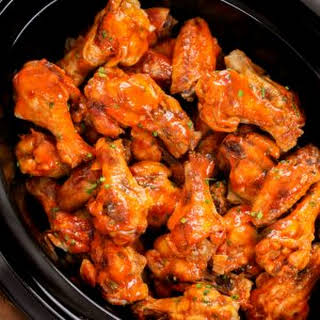 Slow Cooker Chicken Wings.
