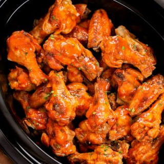 Slow Cooker Chicken Wings.