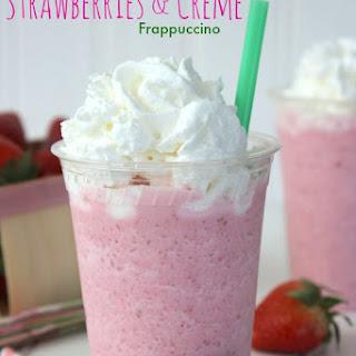 CopyCat Starbucks Strawberries & Creme Frappuccino