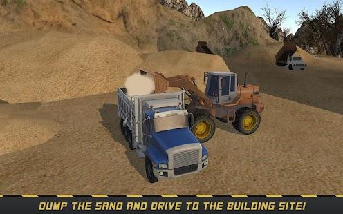 Mighty Loader & Dump Truck SIM - náhled