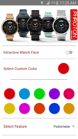 android Phroton Interactive Watch Face Screenshot 5