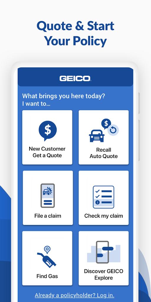 Geico Mobile Car Insurance 5 9 1 Apk Download Com Geico Mobile Apk Free