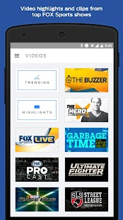 FOX Sports Mobile- screenshot thumbnail