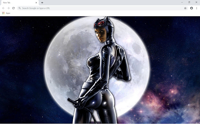 Catwoman New Tab & Wallpapers Collection