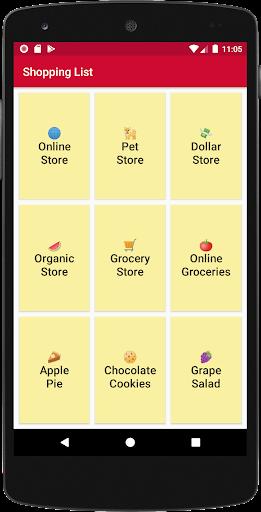 Shopping List - Simple & Easy screenshots 1