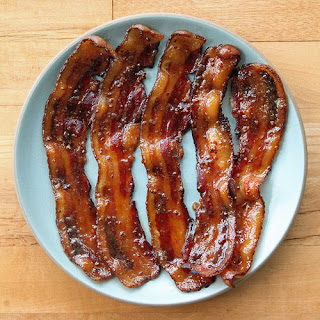Beer-Glazed Bacon
