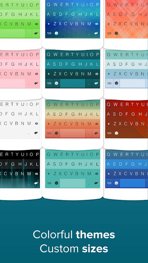 Fleksy + GIF Keyboard- screenshot